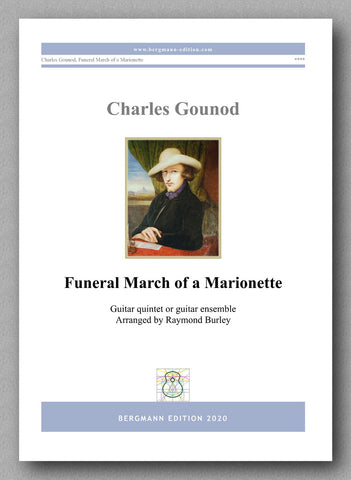 Charles Gounod,  Funeral March of a Marionette  - preview of the cover