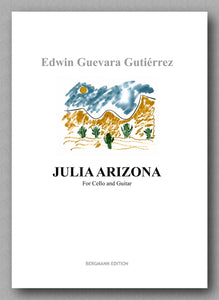 JULIA ARIZONA by  Edwin Guevara Gutiérrez - preeview of the cover