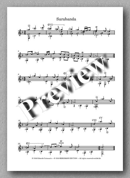 G. F. Händel, Suite HWV 447 - preview of the music score 3