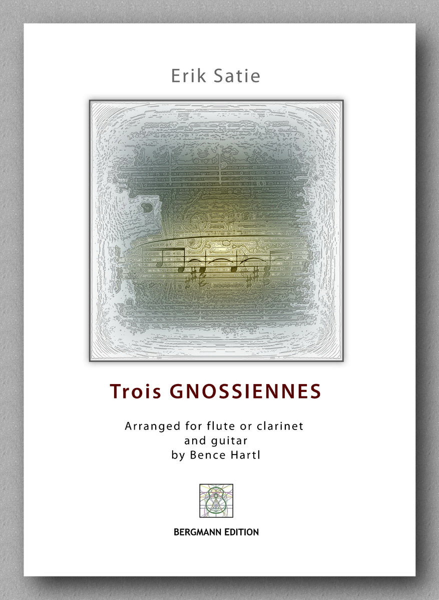Eric Satie, Trois GNOSSIENNES - preview of the cover
