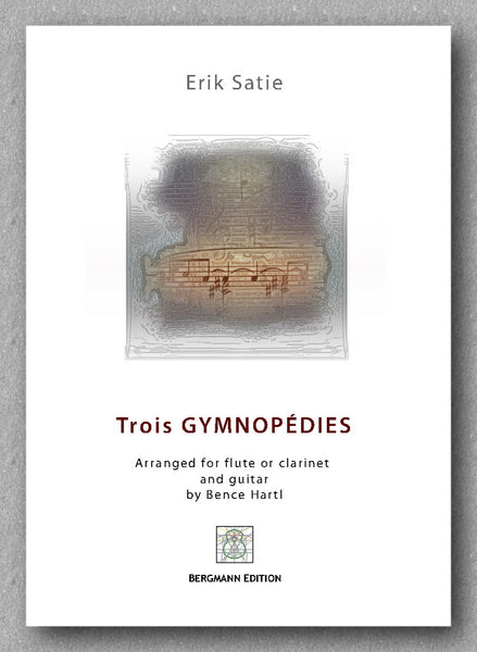 Eric Satie, Trois GYMNOPÉDIES - preview of the cover