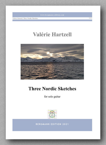 Valérie Hartzell, Three Nordic Sketches - cover