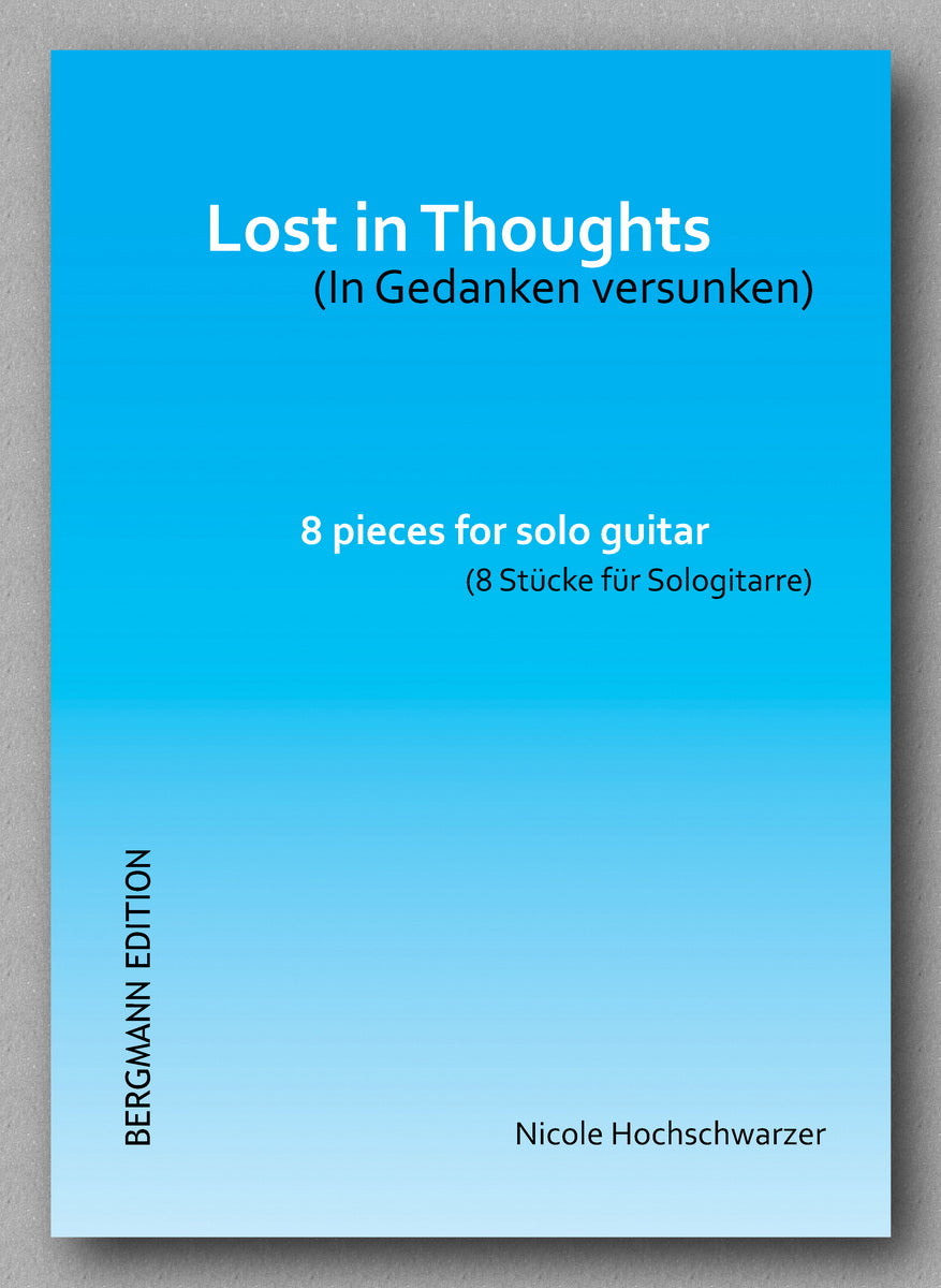 Lost in Thoughts by Nicole Hochschwarzer  - preview of the cover