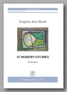 Eugène den Hoed, 15 Modern Studies - preview of the cover