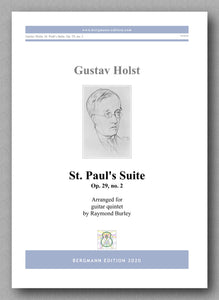 Gustav Holst, St. Paul's Suite, Op. 29, no. 2  - preview of the cover