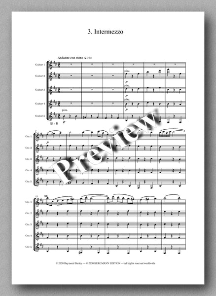 Gustav Holst, St. Paul's Suite, Op. 29, no. 2  - preview of the Music score 3