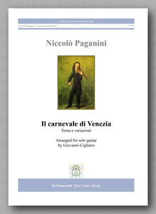 Niccolò Paganini, Il carnevale di Venezia-Tema e variazioni  - preview of the cover