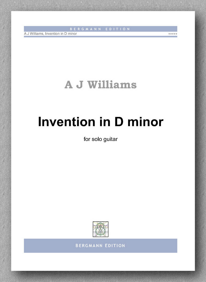 Williams, Invention in D minor - preview of the cover