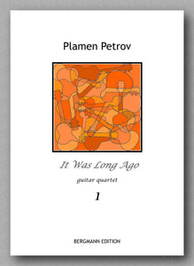 Petrov, It was long ago - preview of the cover