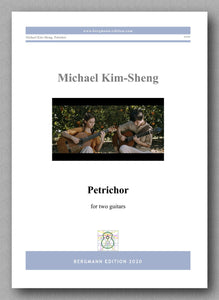 Petrichor by Michael Kim-Sheng - preview of the cover