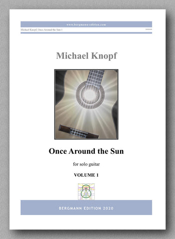Once Around the Sun by Dr Michael Knopf - preview of the cover