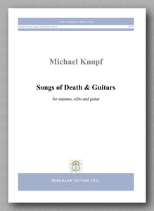 Songs of Death & Guitars by Dr Michael Knopf - cover