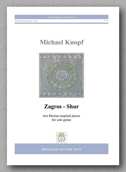 Zagros - Shur by Dr. Michael Knopf - preview of the cover