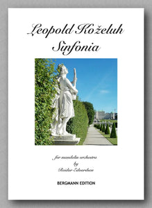 Leopold Antonín Koželuh (1747-1818), Sinfonia - preview of the cover