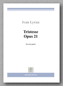 Ivan Lyran, Tristesse Op. 21 - preview of the cover
