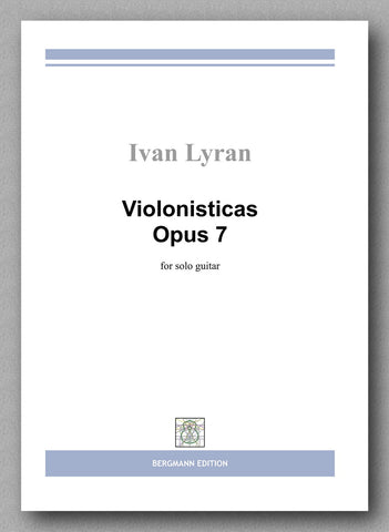 Ivan Lyran, Violonisticas Op. 7 - preview of the cover