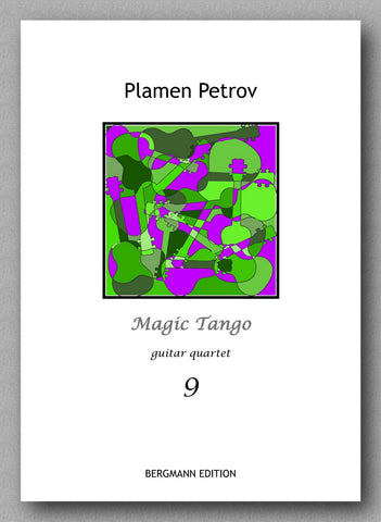 Petrov, Magic Tango - preview of the cover.