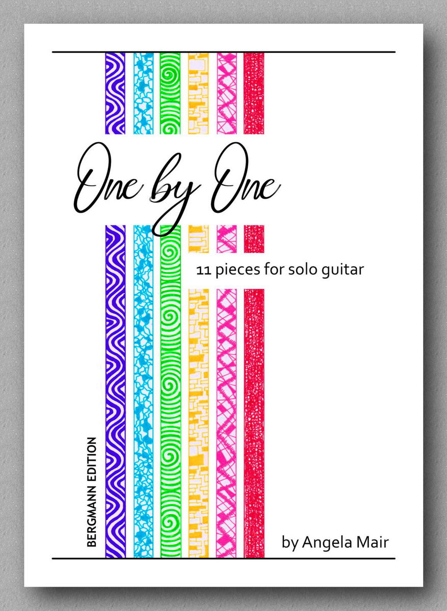 Angela Mair, One by One - preview of the cover