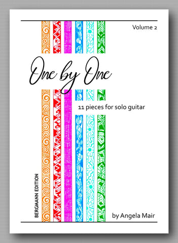 One by One - vol. 2, by Angela Mair - preview of the cover