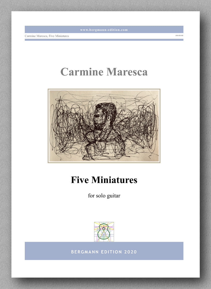 Carmine Maresca, Five Miniatures - preview of the cover