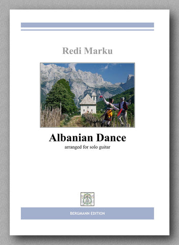 Albanian Dance by Redi Marku, preview of the cover