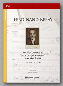 Rebay [134], Auswahl aus op. 17 von Max Reger - preview of the cover