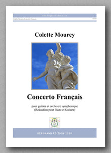 Colette Mourey, Concerto Français - preview of the cover