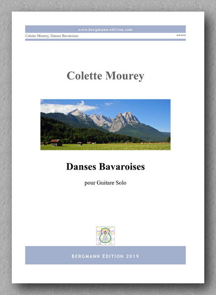 Colette Mourey, Dances Bavaroises - preview of the cover