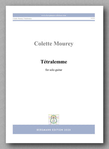 Colette Mourey, Tétralemme - preview of the cover