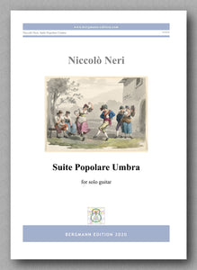 Niccolò Neri, Suite Popolare Umbra - preview of the cover