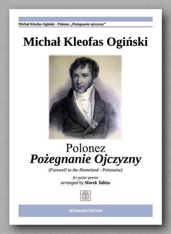 "MICHAŁ KLEOFAS OGIŃSKI, ""FAREWELL TO THE HOMELAND"" - preview of the cover"