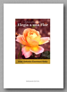 Ortiz-Elegía a una Flor - preview of the cover