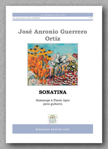 Sonatina by José Antonio Guerrero Ortiz - preview of the covera