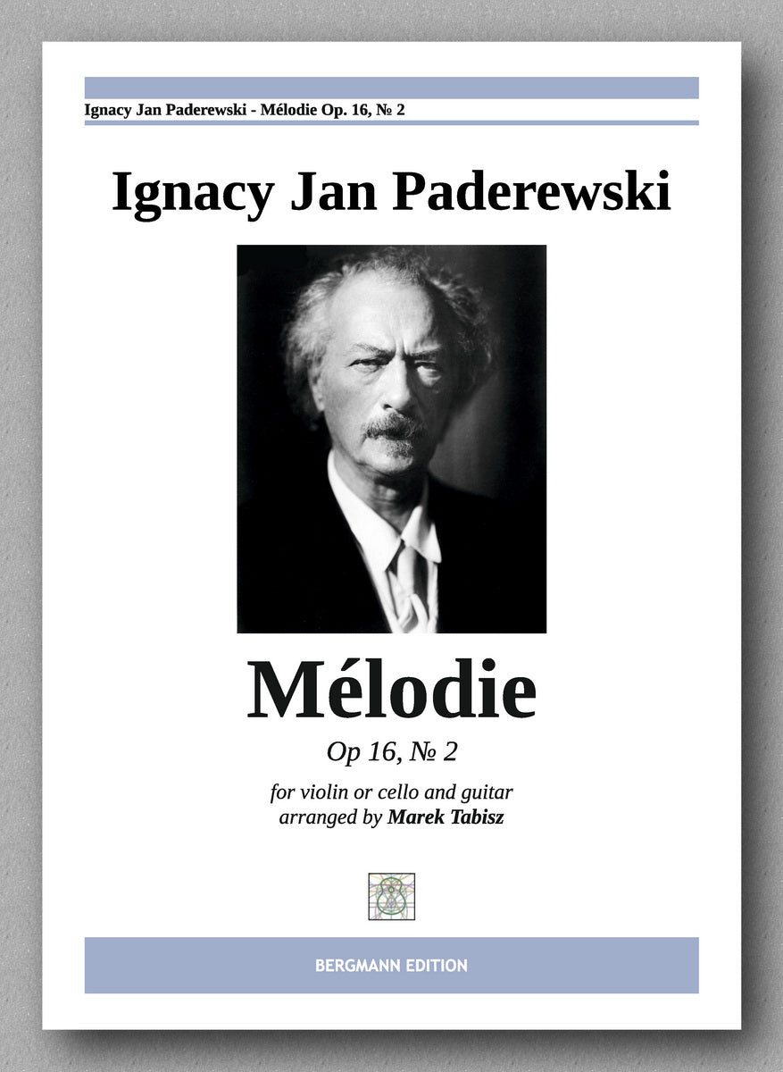 IGNACY JAN PADEREWSKI, MÉLODIE OP. 16, № 2  - preview of the cover