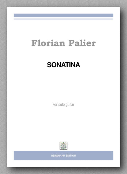 Florian Palier, Sonatine - preview of the cover