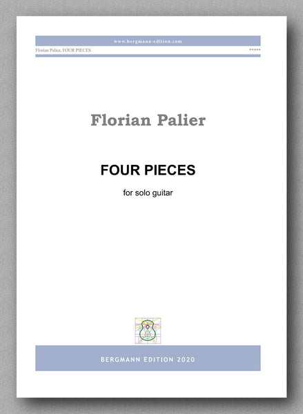 Palier, Four Pieces - preview of the cover