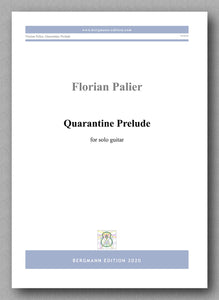 Florian Palier, Quarantine Prelude - preview of the cover