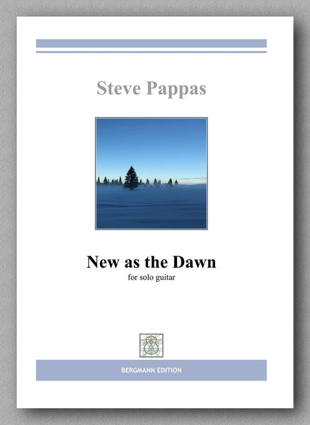Pappas, New as the Dawn - preview of the cover