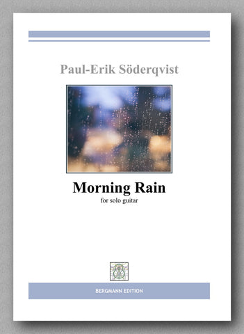Söderqvist, Morning Rain - preview of the cover
