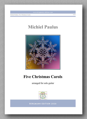 Five Christmas Carols - Preview of the cover