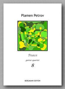 Petrov, Peace, guitar quartet 8 - preview of the cover