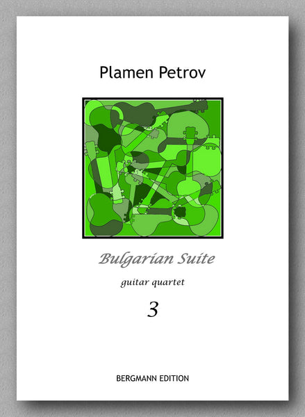 Petrov, Bulgarian Suite - preview of the cover