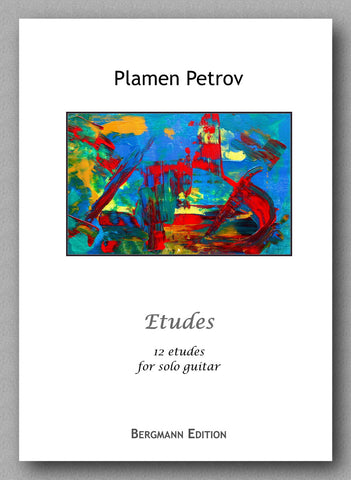 Preview: Plamen Petrov - Etudes - cover