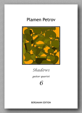 Petrov, Shadows, guitar quartet 6 - preview of the cover