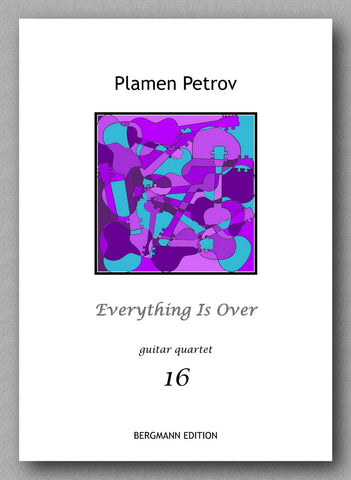 Petrov, Everything Is Over - preview of the cover