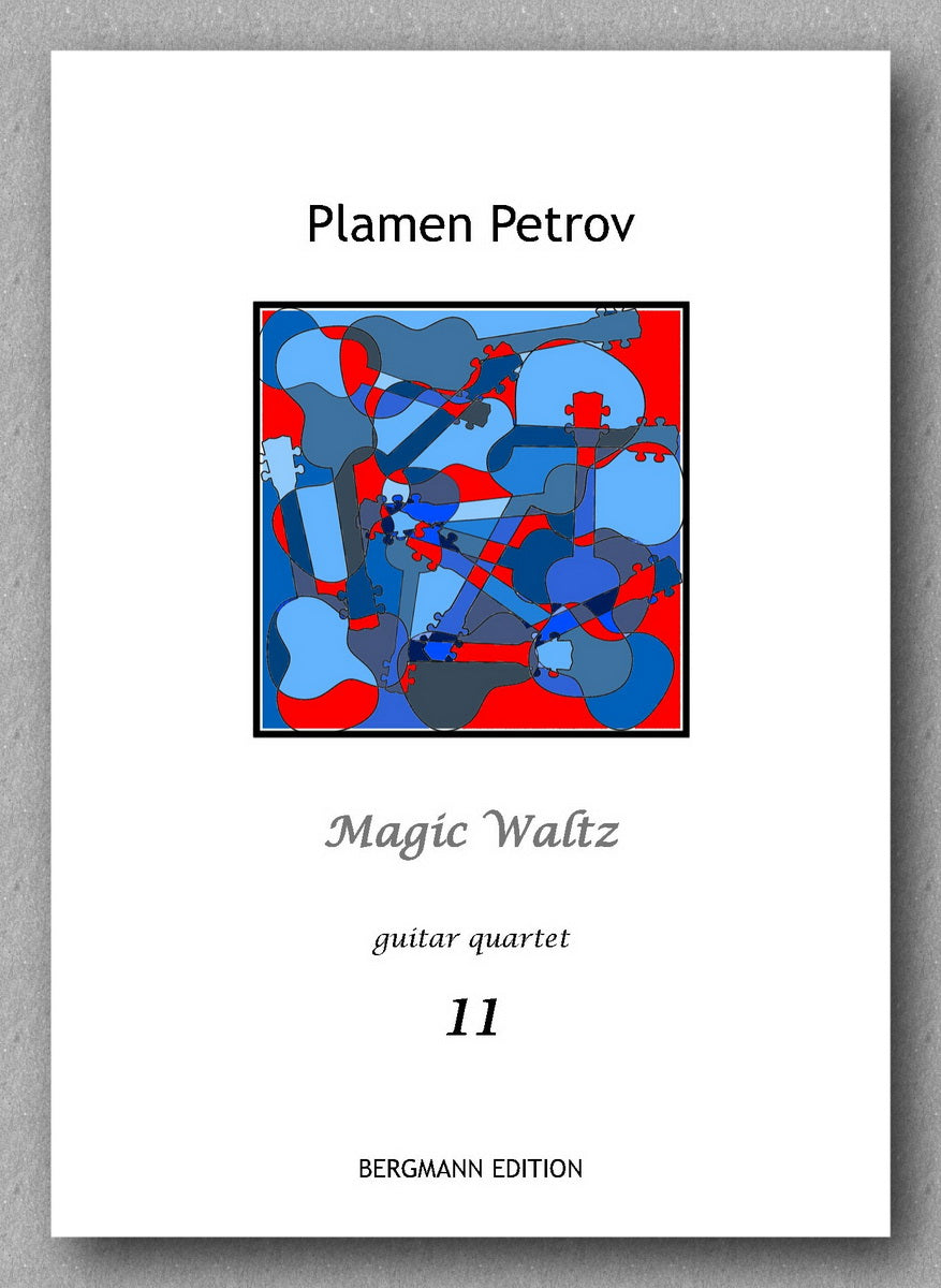 Petrov, Magic Waltz - preview of the cover