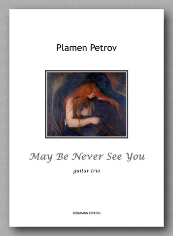 Petrov, May Be Never See You - preview of the cover