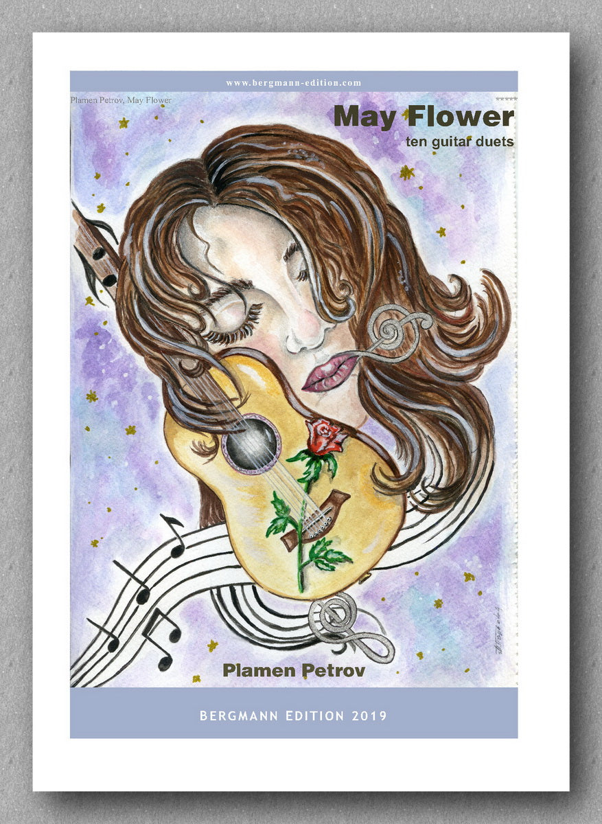 May Flower by Plamen Petrov - preview of the cover