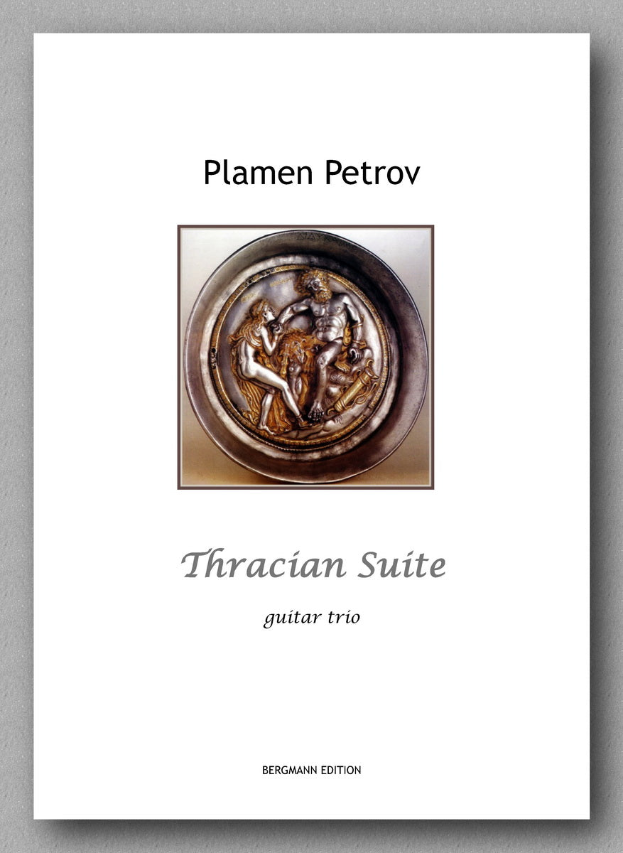 Thracian Suite, guitar trio by Plamen Petrov - preview of the cover