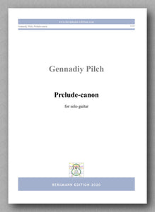 Gennadiy Pilch, Prelude-canon - preview of the cover